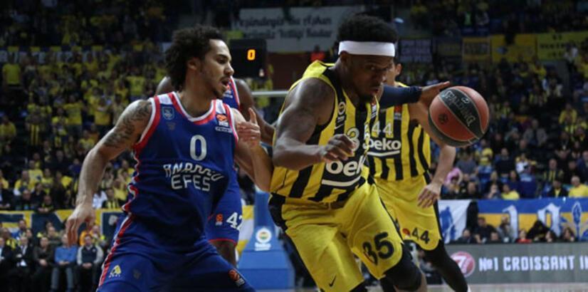 Anadolu Efes, Fenerbahçe Beko'yu yenerek şampiyon oldu!