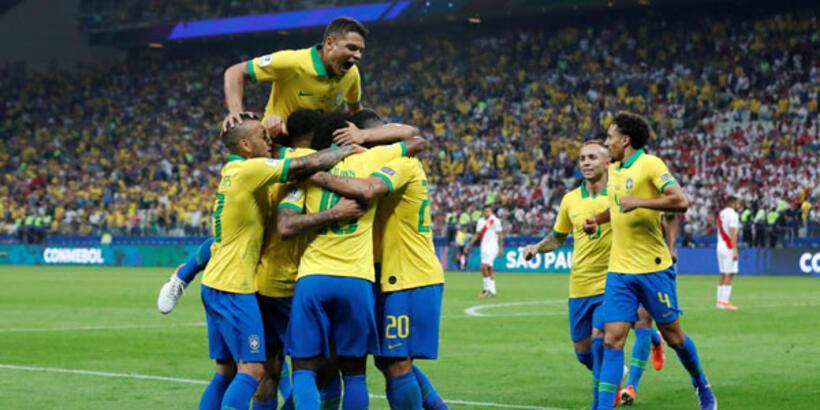 Brezilya'dan Peru'ya tam 5 gol!