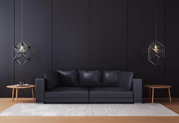 Siyah mobilyalar nasıl dekore edilir?