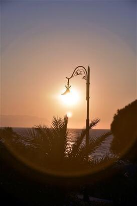 Kuşadası'nda gün batımı