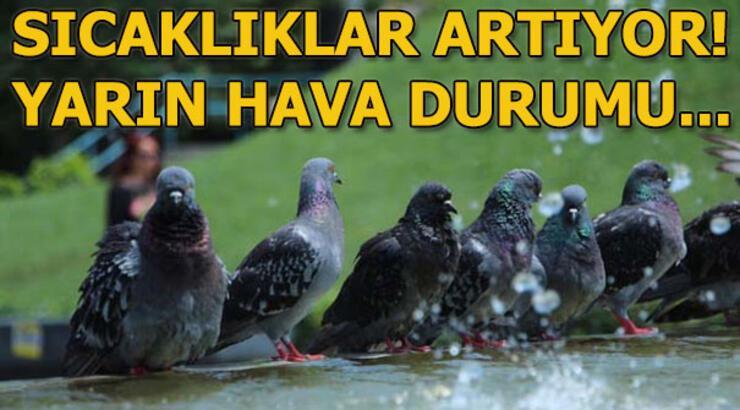 Salı günü hava durumu nasıl olacak? (25 Haziran) İstanbul, Ankara, İzmir yağış var mı?