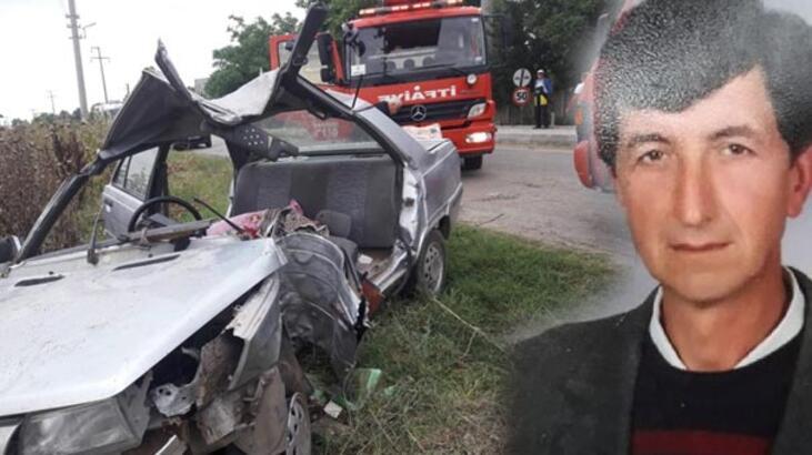 Kırklareli'nde korkunç kaza! Baba ile kızını ayırdı
