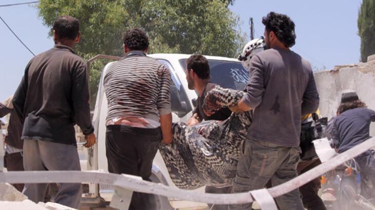 İdlib'in merkezinde bombalı araç saldırısı