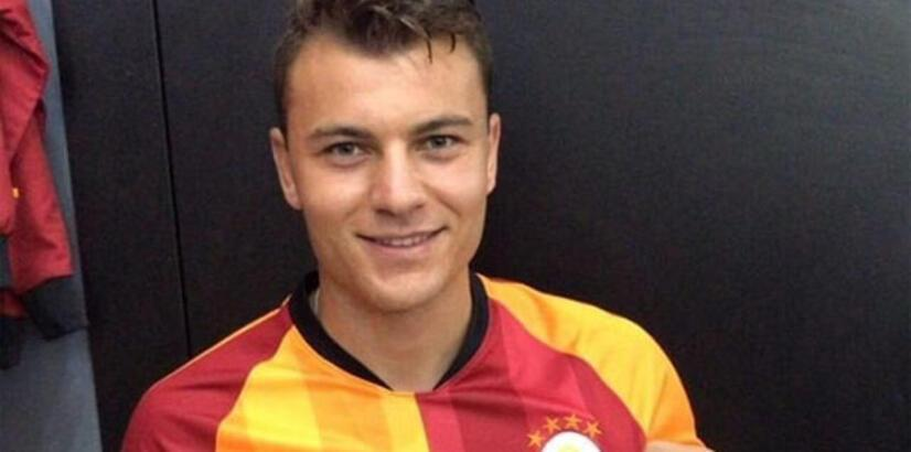 Yusuf Erdoğan, Galatasaray formasını giydi