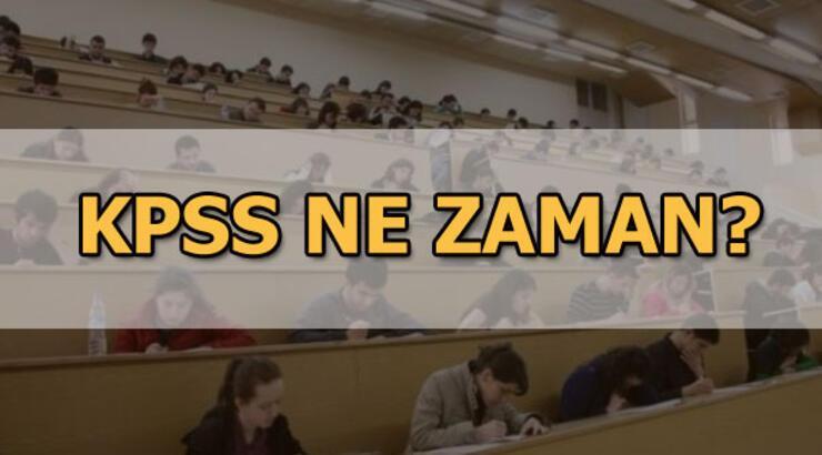KPSS A Grubu ve Öğretmenlik sınavı hangi tarihte? 2019 KPSS tarihi