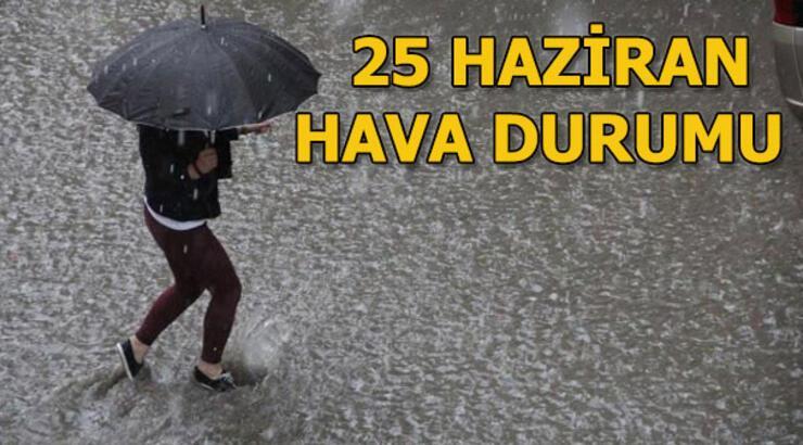 Çarşamba günü hava durumu nasıl? 26 Haziran İstanbul, Ankara ve İzmir hava durumu
