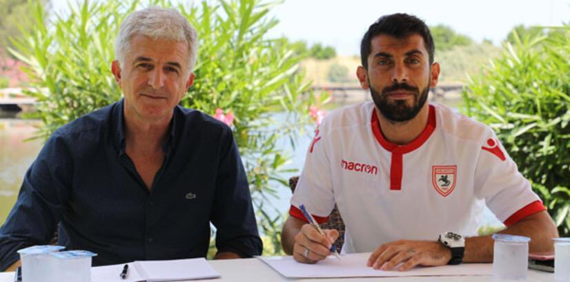 Samsunspor'da Gökhan Meral imzaladı