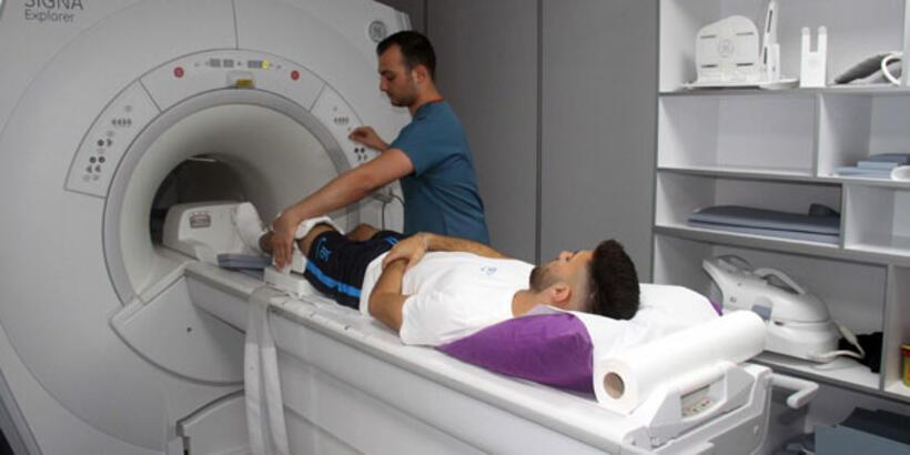 Adana Demirsporlu futbolculara sağlık kontrolü