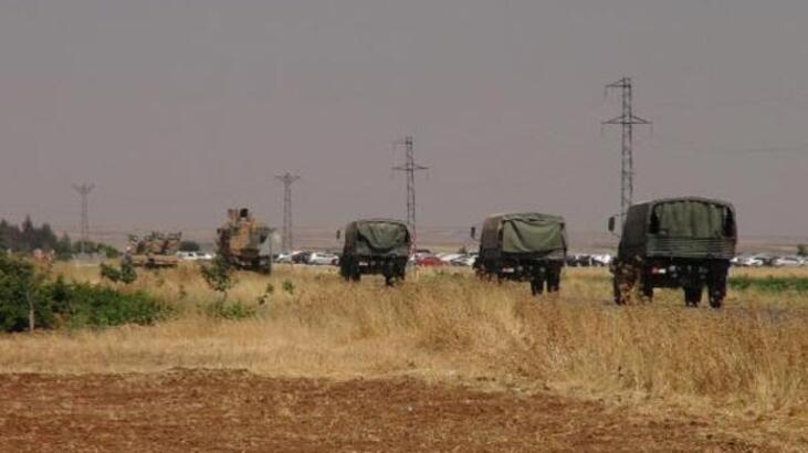 Suriye sınırında hareketlilik! Güvenlik önlemleriyle ilerledi