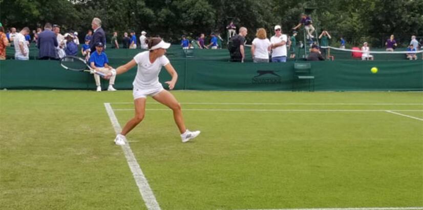 Pemra Özgen'den Wimbledon'a veda