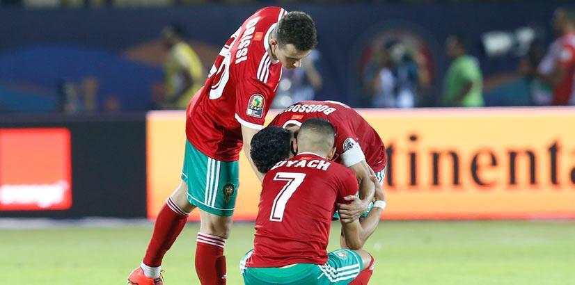 Fas, penaltılarda yıkıldı! 2 gol, 1 krımızı kart...