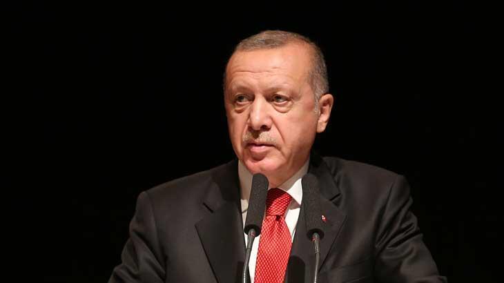 Cumhurbaşkanı Erdoğan ilçe belediye başkanlarıyla bir araya geldi