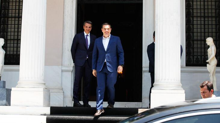 Yunanistan'da Miçotakis resmen Başbakan