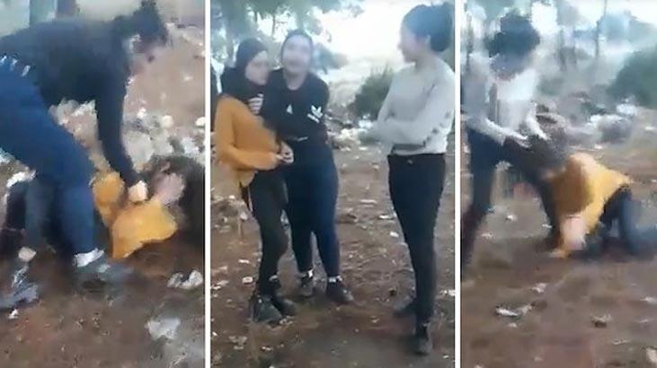 Ormanda genç kıza işkence!