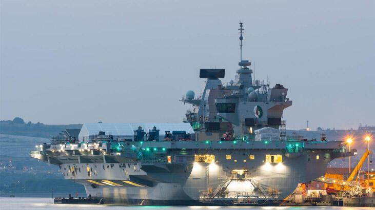 4 milyar dolarlık İngiliz uçak gemisinde sızıntı bulundu, tatbikat yarıda kesildi