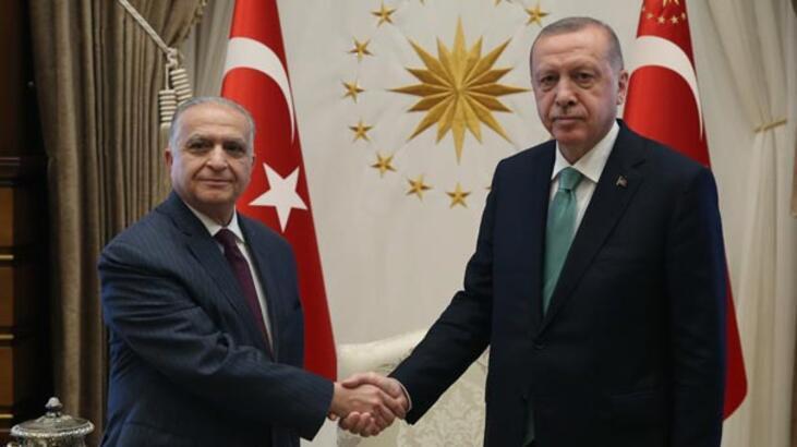 Cumhurbaşkanı Erdoğan Irak heyetini kabul etti