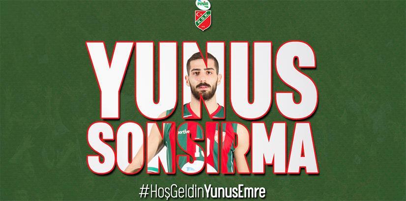 Pınar Karşıyaka, Yunus Emre Sonsırma'yı transfer etti