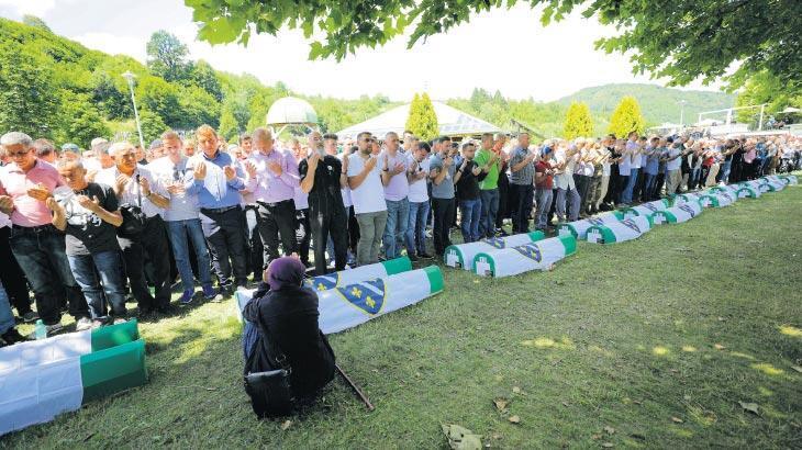 'Srebrenitsa soykırımı asla unutulmayacaktır'
