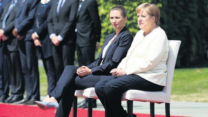 Merkel 'önlem'ini baştan aldı!