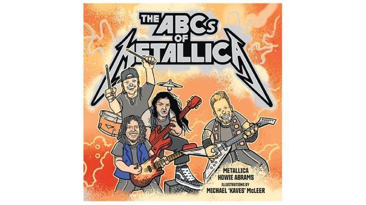 Metalci çocuklara Metallica'dan kitap