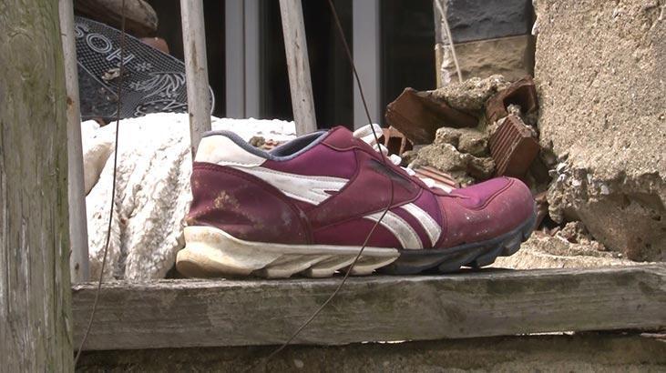 Polis bu ayakkabıyı giyenin peşinde