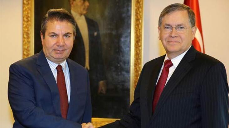 Dışişleri Bakan Yardımcısı Önal, ABD Büyükelçisi Satterfield'ı kabul etti