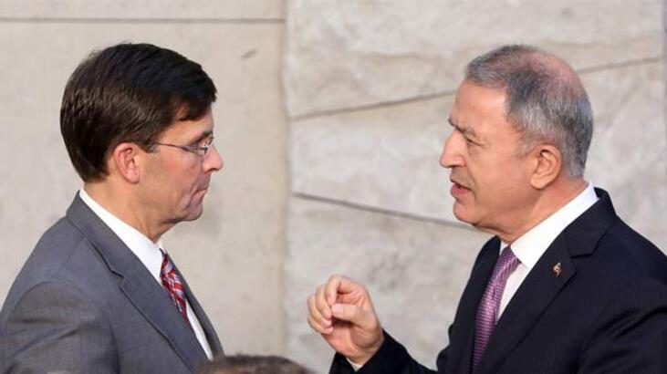 Milli Savunma Bakanı Akar, ABD Savunma Bakanı Vekili ile görüştü: Türkiye ciddi bir hava ve füze tehdidi altında