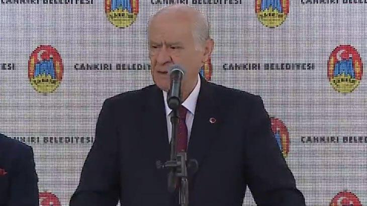 MHP Genel Başkanı Bahçeli'den Doğu Akdeniz açıklaması