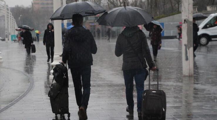 Meteoroloji'den sağanak uyarısı! Hava durumu bugün nasıl olacak?