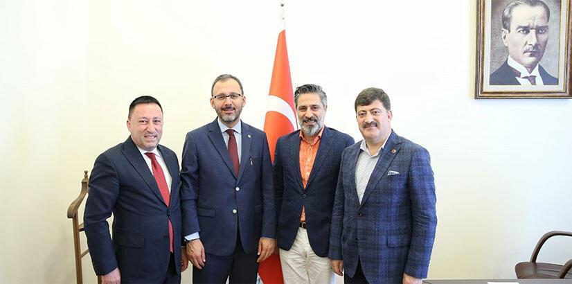 Bakan Kasapoğlu'ndan tesis müjdesi