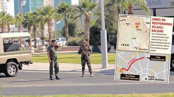Erbil'de hain saldırı