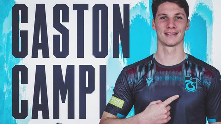 Trabzonspor, Gaston Campi'yi KAP'a bildirdi