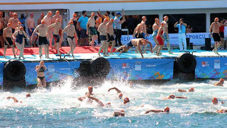 Samsung Boğaziçi Kıtalararası Yüzme Yarışı tamamlandı
