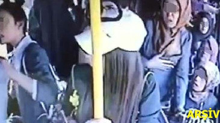 Halk otobüsünde taciz! 'Babam yaşında adamsın, utanmıyor musun?'