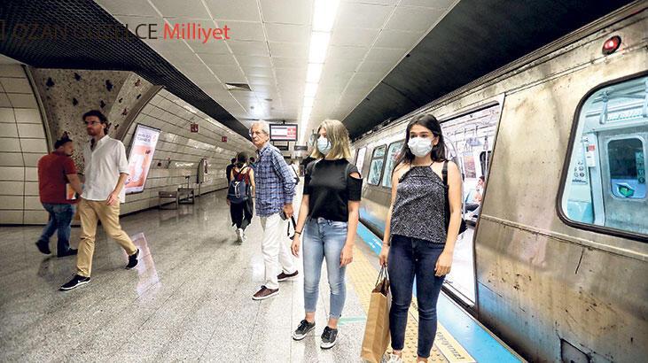 Metroda kirli hava uyarısı!