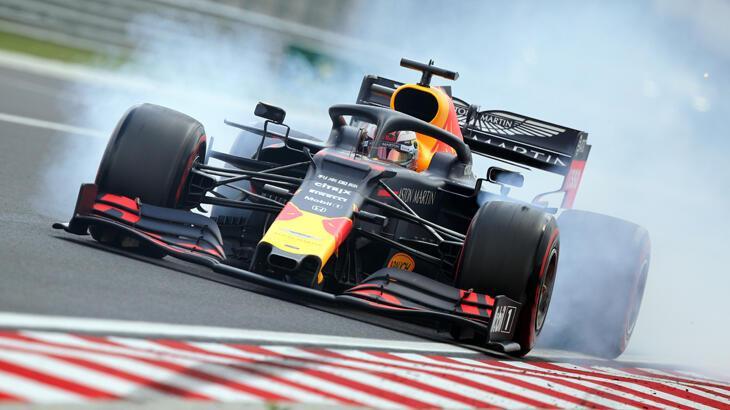Macaristan'da pole pozisyonu Verstappen'in
