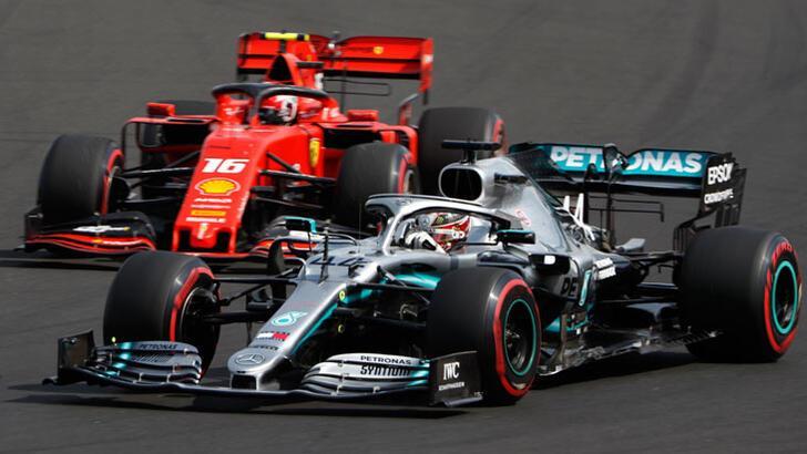 Formula 1'de Hamilton rüzgarı! 8. zafer...