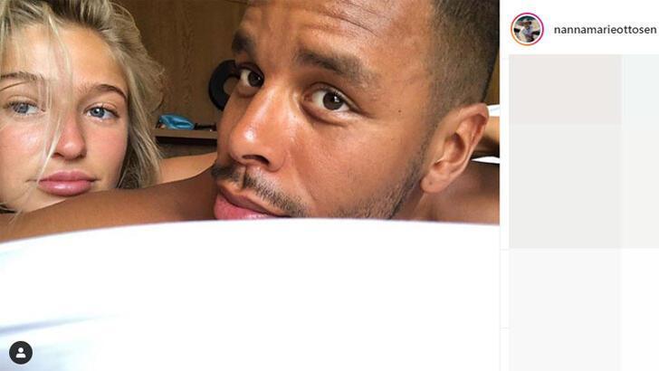 Zanka'nın kız arkadaşı Instagram paylaşımlarıyla şaşırtıyor