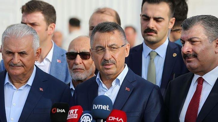 Cumhurbaşkanı Yardımcısı Oktay'dan Doğu Akdeniz mesajı