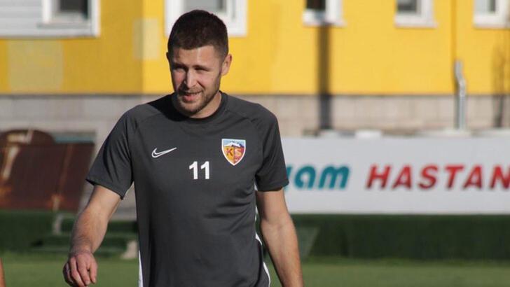 Kayserispor'da Artem'den iyi haber var