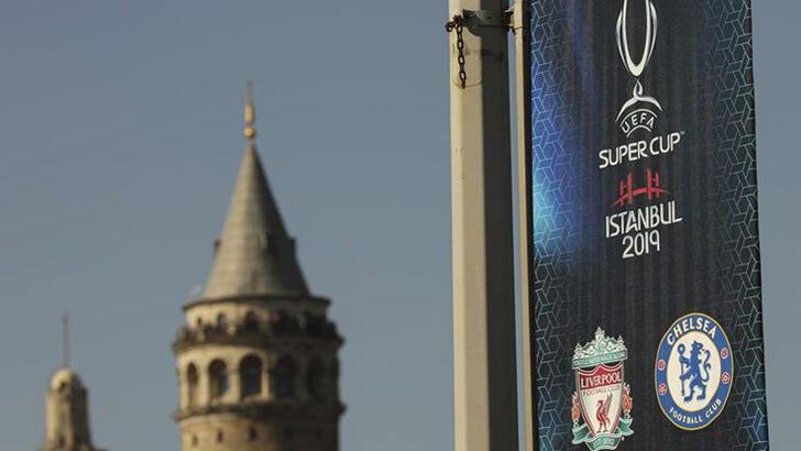 44'üncü UEFA Süper Kupa İstanbul'da sahibini buluyor