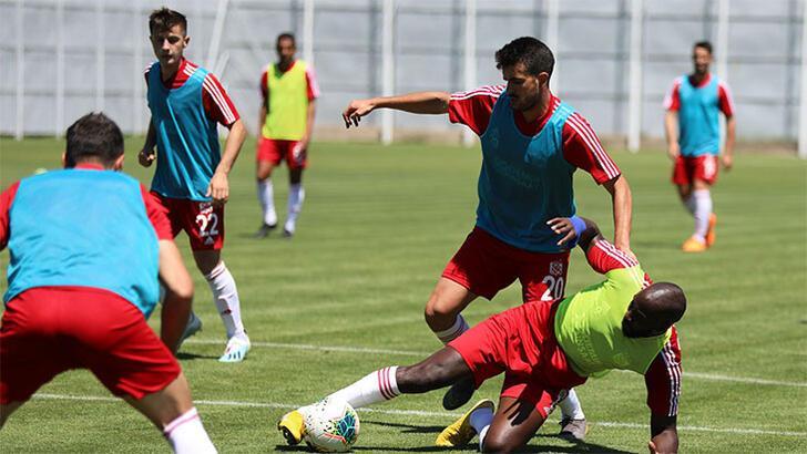 Sivasspor, Beşiktaş'a hazırlanıyor