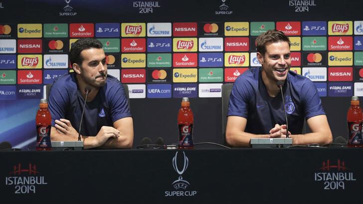 """Cesar Azpilicueta: """"Abraham'ın yarın gol atacağını umuyoruz"""""""