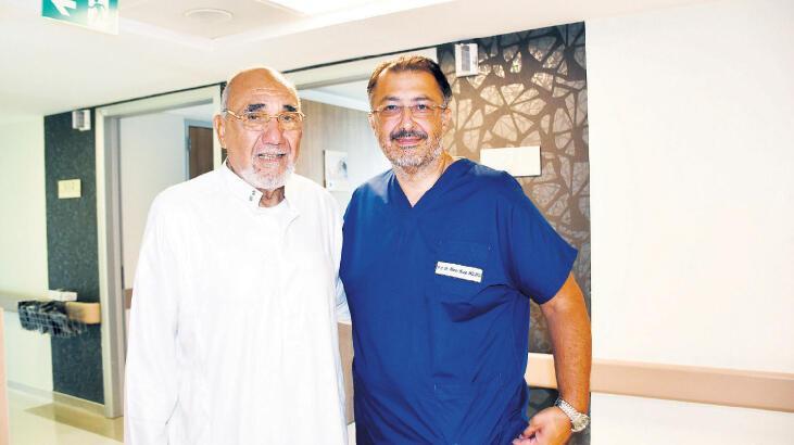 Cezayirli hasta sağlığına kavuştu