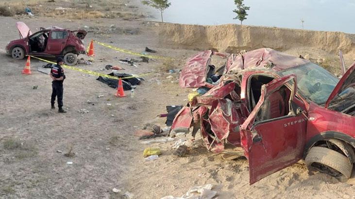 Aksaray'da korkunç kaza! 3 ölü,4 yaralı