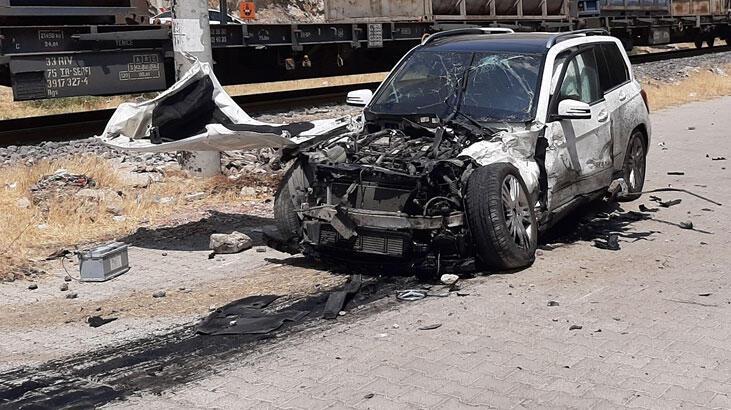 Kahramanmaraş'ta hemzemin geçitte kaza: 5 yaralı