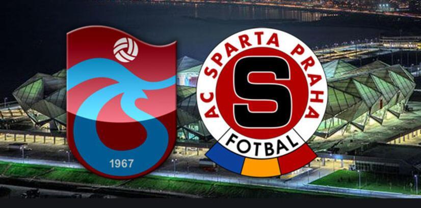 Trabzonspor-Sparta Prag maçı ne zaman saat kaçta hangi kanalda?