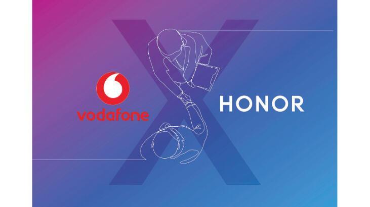 Honor modelleri Vodafone'da