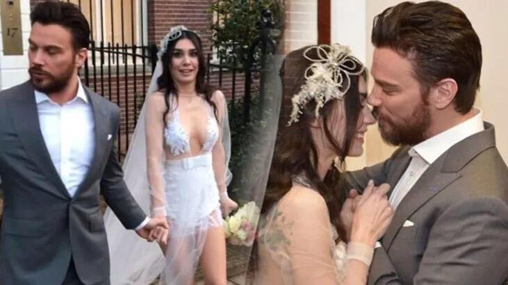 Sinan Akçıl'dan karısının bikinili paylaşımına flaş yorum!