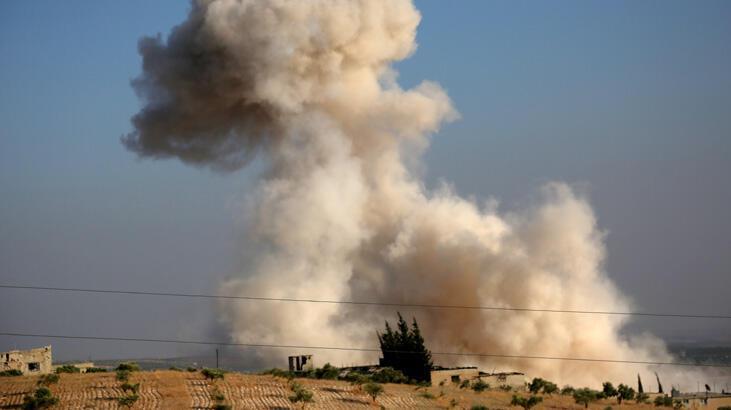 Rejim ve Rusya'dan İdlib'e yeni hava saldırıları